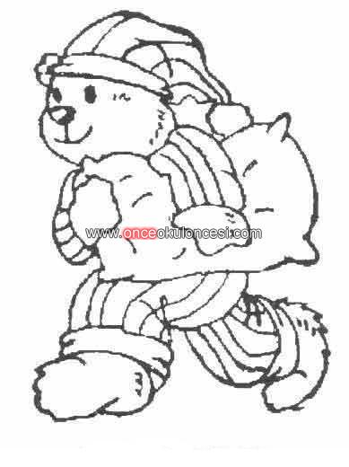 pajamas in the morning coloring pages - photo #17