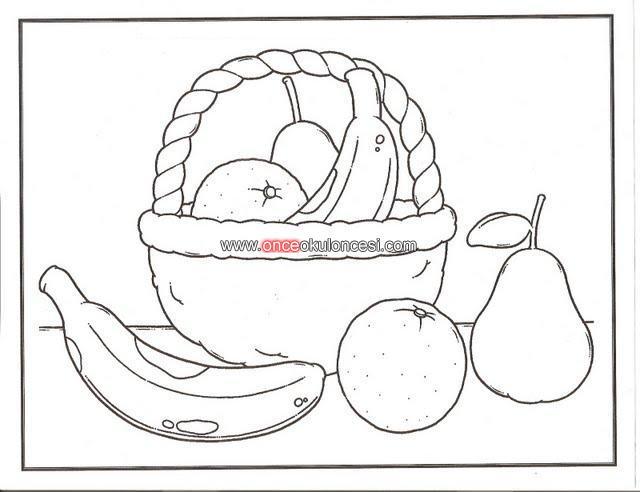 Meyve Tabağı Ve Meyve Sepeti