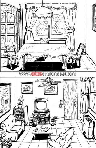 Evin Bölümleri Boyamaları