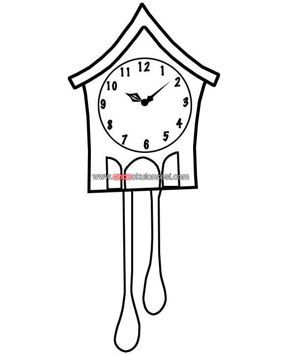 Saat çeşitleri Boyamaları