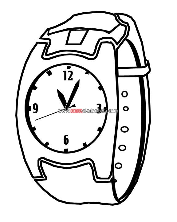 wrist coloring pages - photo#14