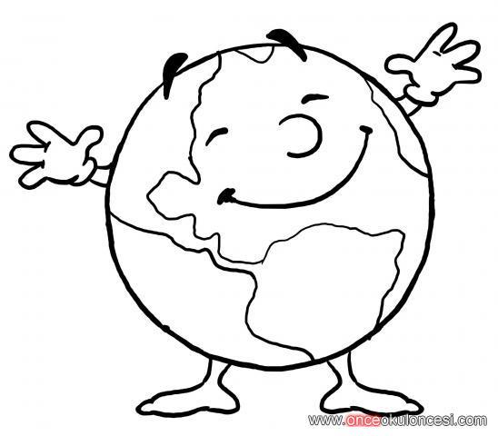 Temiz Dünya çevre Ile Ilgili Boyamalar