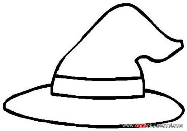 simple witch coloring pages-#35