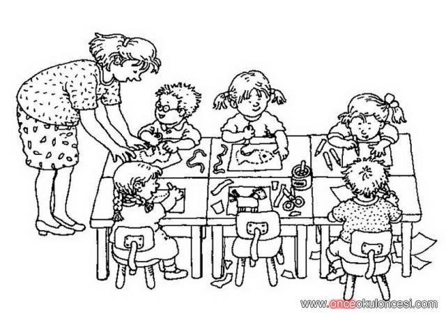 öğretmenler Günü Boyama Etkinlikleri 24 Kasım öğretmenler Günü