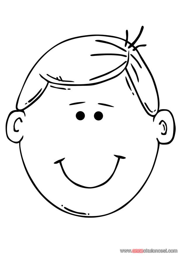 boy hair coloring pages - photo#10