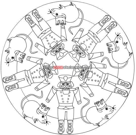 Masallar Mandala Boyamaları