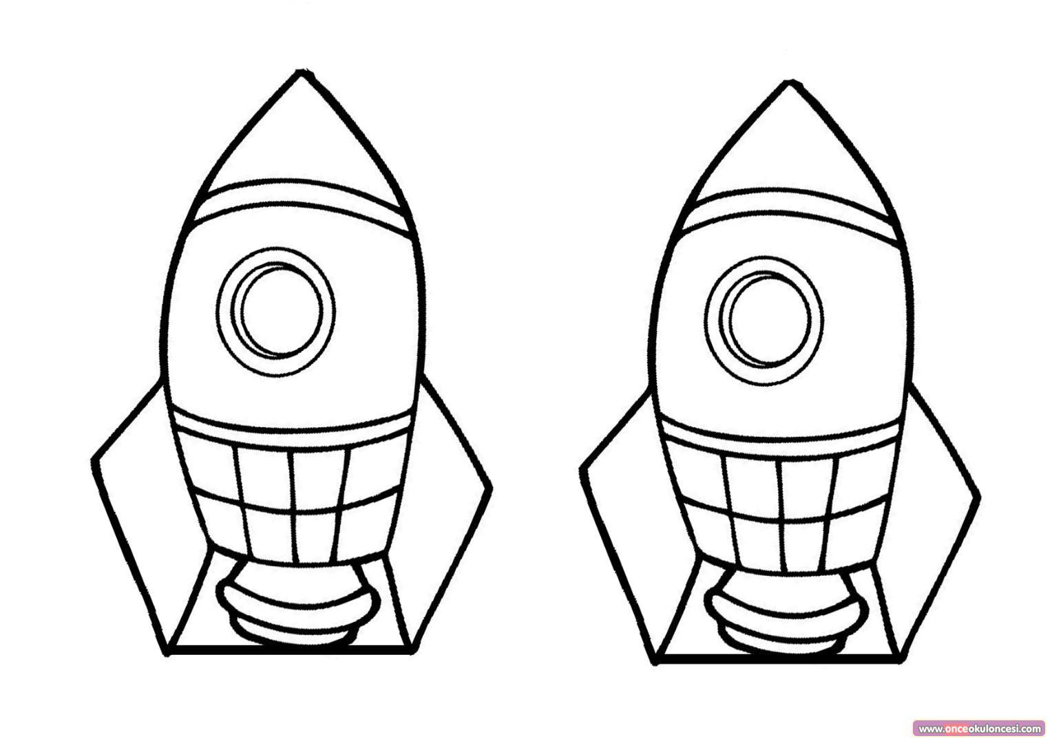 Pipetle Ufleme Hava Basinci Roket Deneyi Roket Kalibi Okul Oncesi