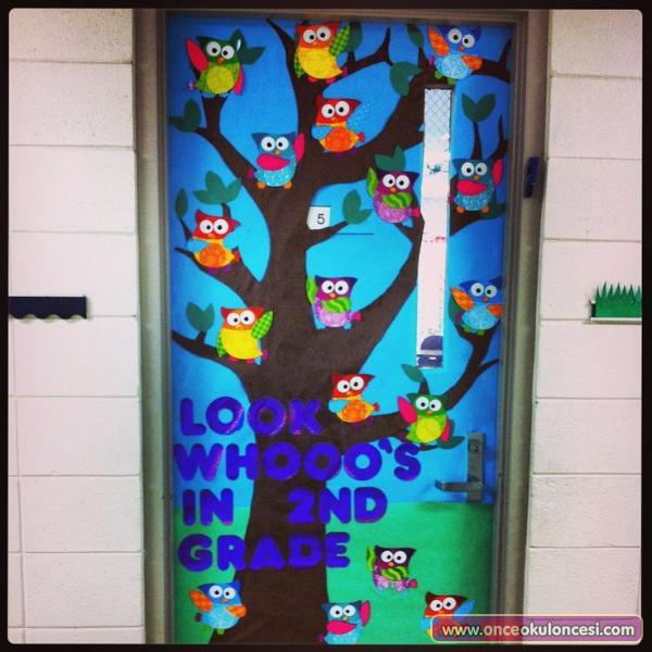 Owl Classroom Door Decorations Decoration For Home