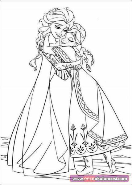 Karlar Kralicesi Boyama