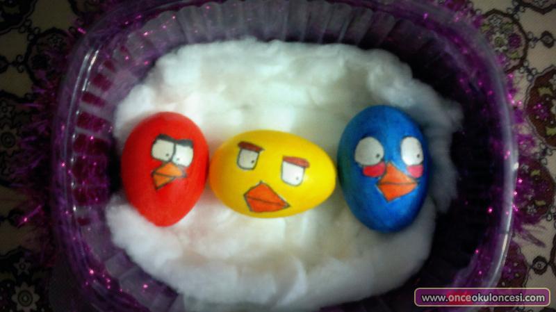Yumurta Boyama çalışmaları