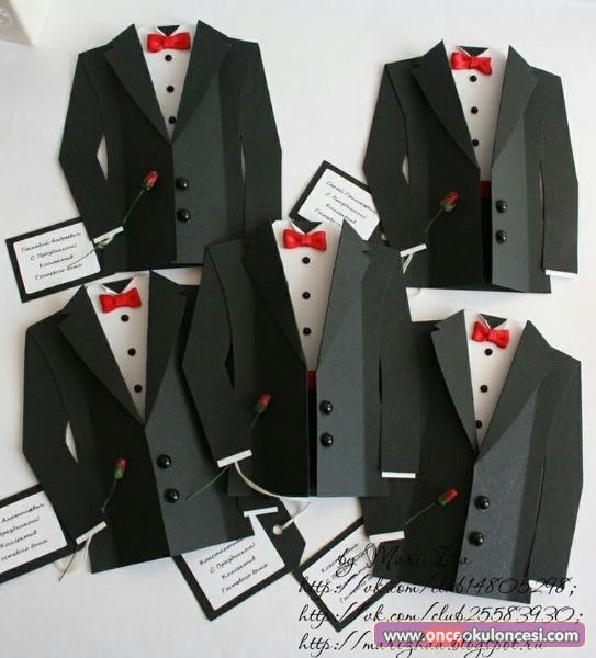 Открытка для мужчин галстук 962
