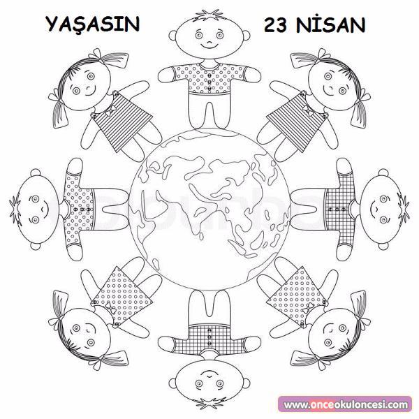 23 Nisan Boyama