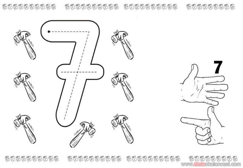 7 Rakami Calismalari