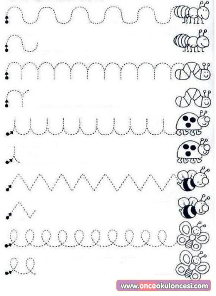 N on handwriting sheets for kindergarten