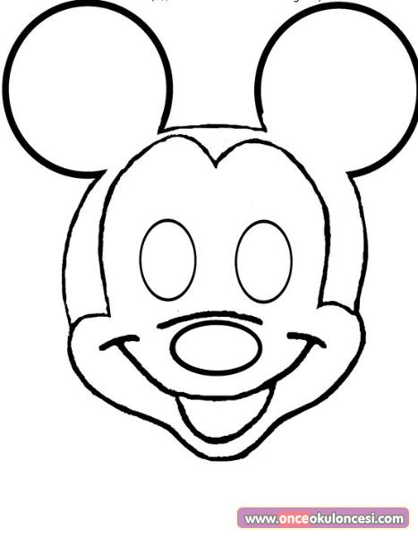 Mickey Mouse Maskeleri