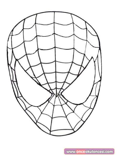 örümcek Adam Maskesi