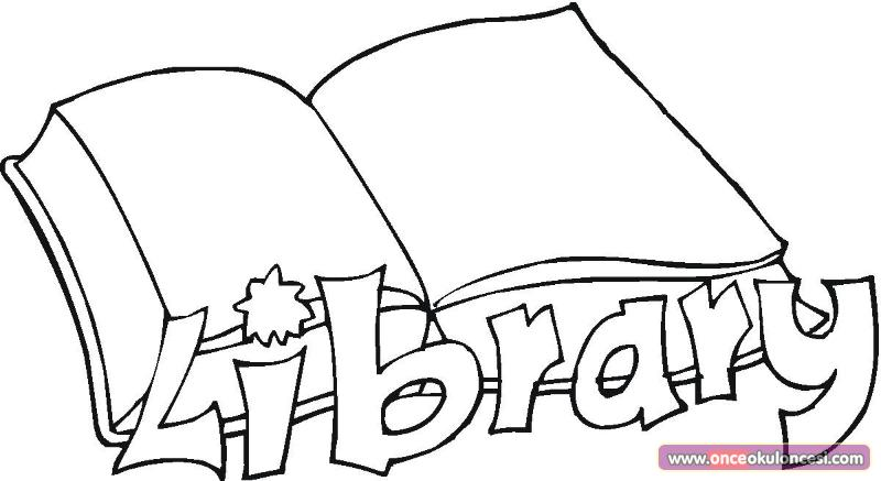 Free coloring pages of rules for the library