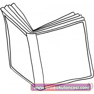 Kitaplar Boyama Sayfasi