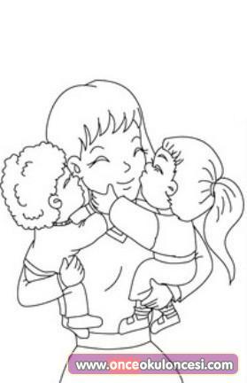 Anneler Günü Boyama Sayfaları 35 Adet