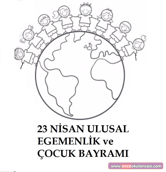 Boyama Sayfalari 23 Nisan