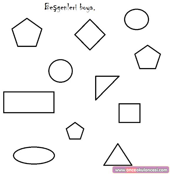 75 Geometrik Sekiller Boyama Sayfalari En Iyi Boyama Cocuk Kitabi