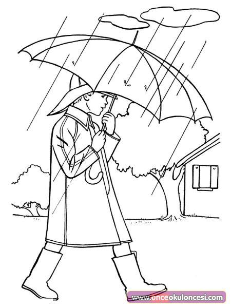 Yağmurlu Hava Boyama