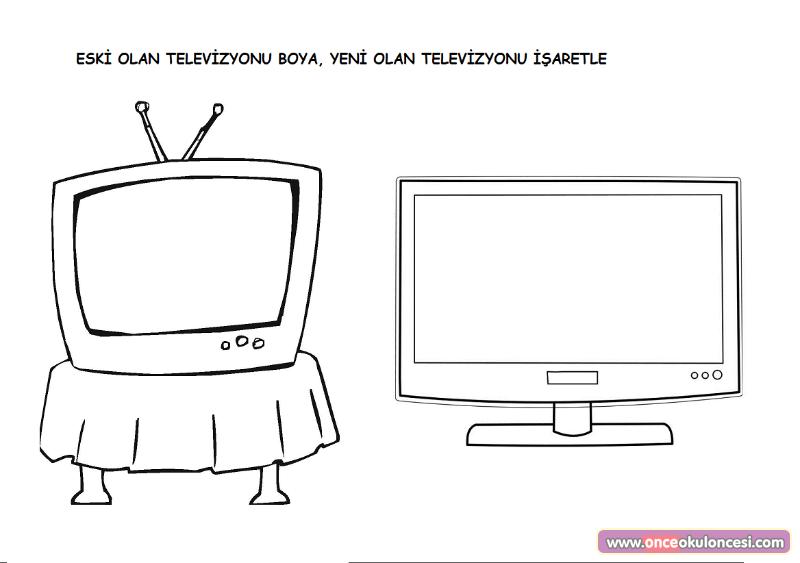 Eski Yeni Kavramı Televizyon