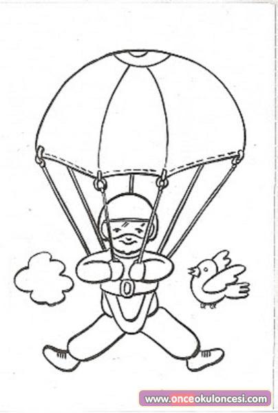 Tabaktan Paraşütçü Etkinliğimiz Kalıplı