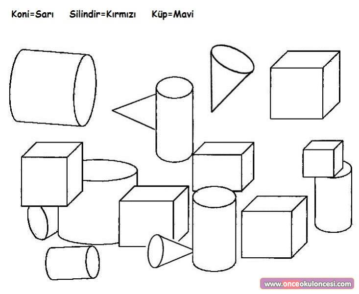 Geometrik Sekiller Etkinlikleri Sayfa 4
