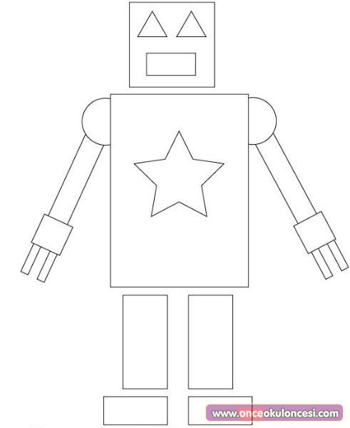 Robot Boyama Sayfaları