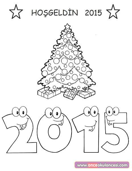 2015 Boyama Sayfaları