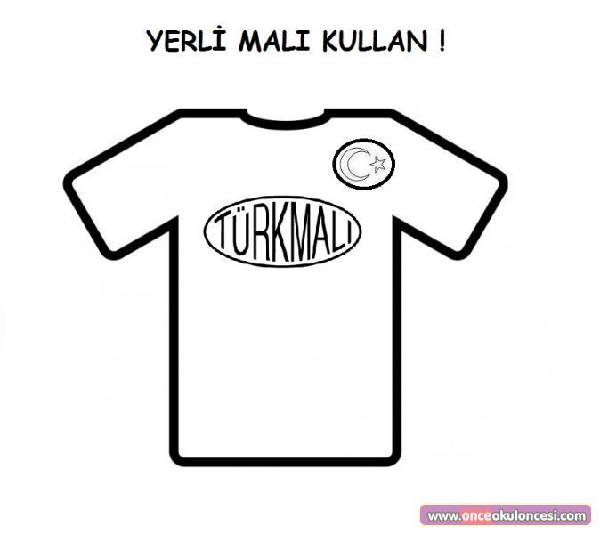 Turk Mali Kullanalim Boyama Sayfalari