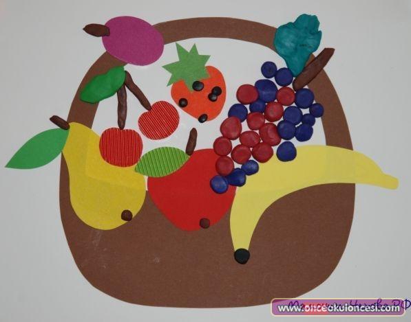 Meyveler Ve Meyve Sepeti Etkinlikleri
