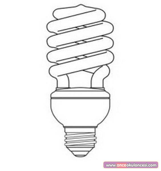 Tasarruflu Lamba Boyama Sayfası