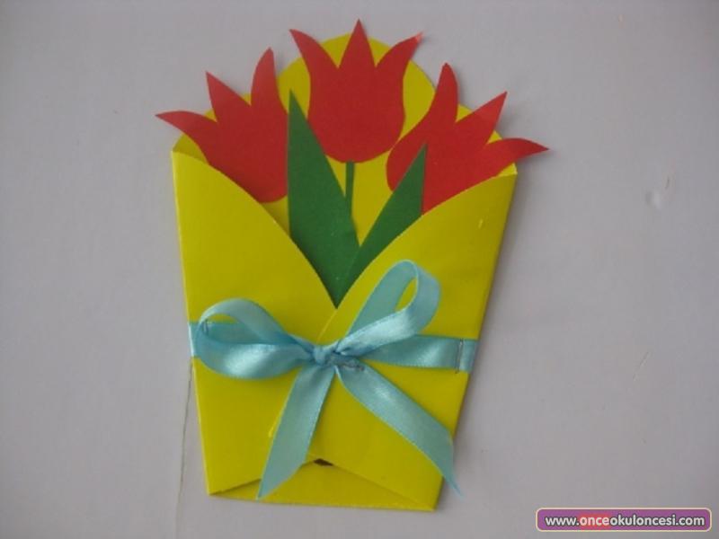Подарки из бумаги для мамы