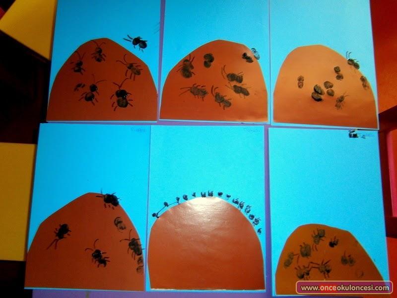 Parmak Baskısından Karınca