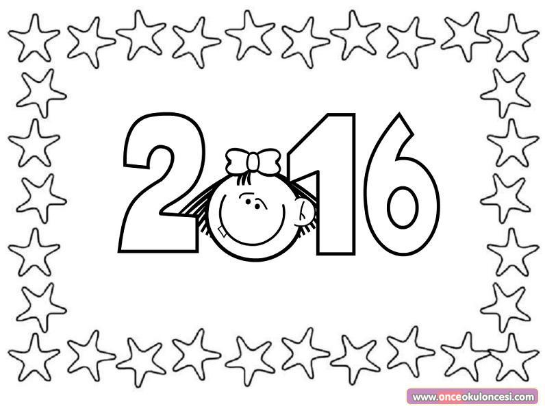 2016 Boyama Sayfaları