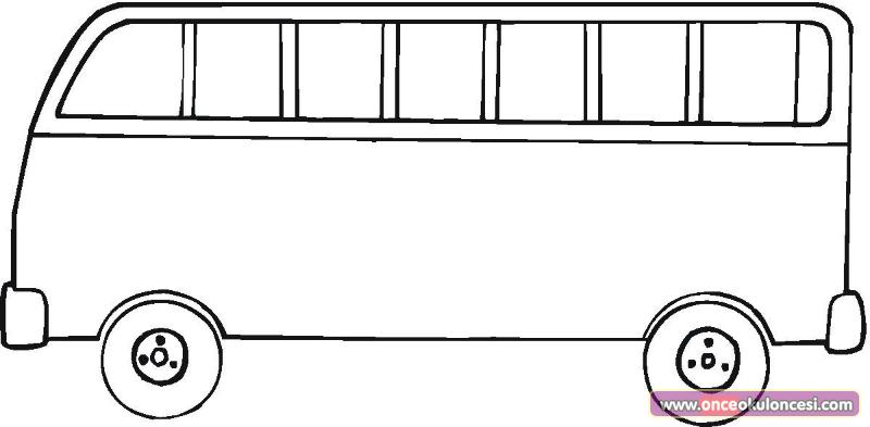 Otobus Boyama Sayfasi