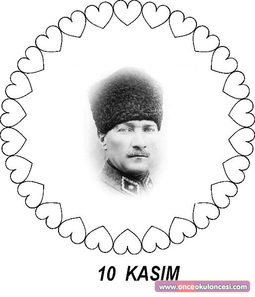 【seçilmiş】 Okul öncesi Atatürk Boyama