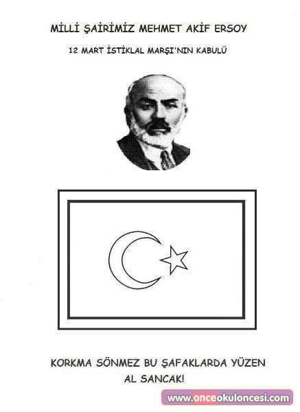 12 Mart Istiklal Marşının Kabulü Ve Mehmet Akif Ersoyu Anma