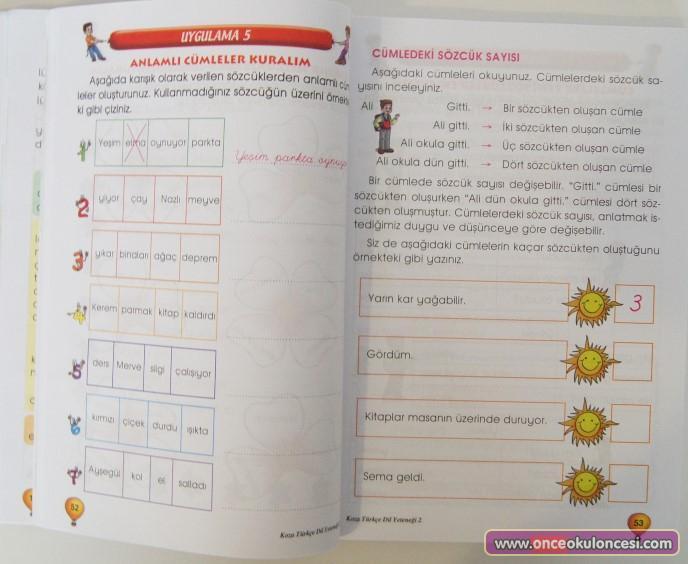 2. sınıf türkçe yeteneği