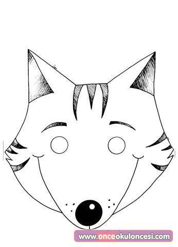 Cocuklar Icin Maskeler Hayvanlar Insanlar Kahramanlar Okul