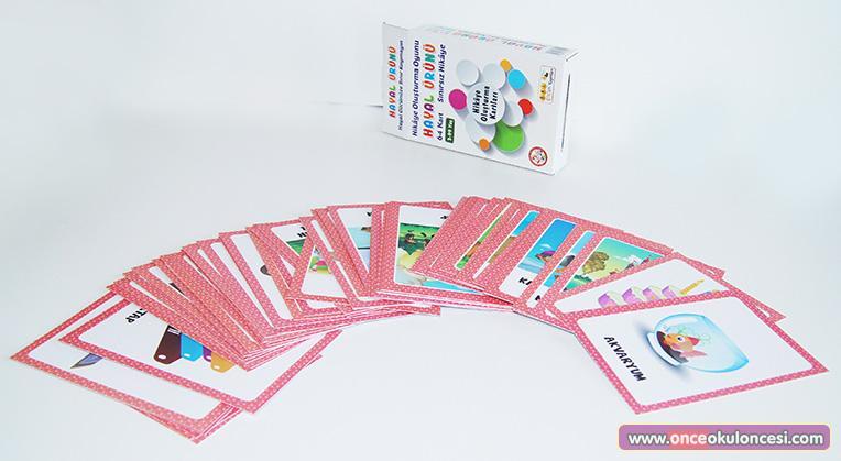 Hikaye oluşturma kartları